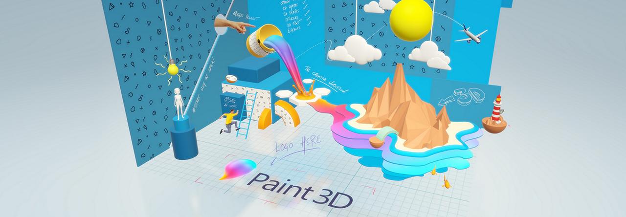 logiciel Paint 3d